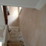 Painting job before.