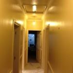 Hallway before painting