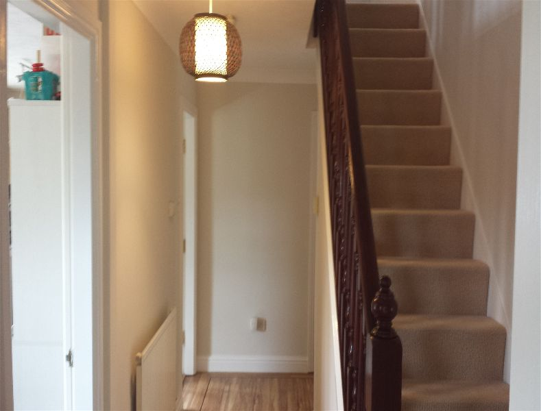 painting a staircase in nether edge m mitchell painter. Black Bedroom Furniture Sets. Home Design Ideas