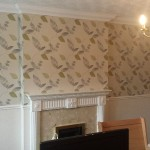 Complete wallpaper job done.