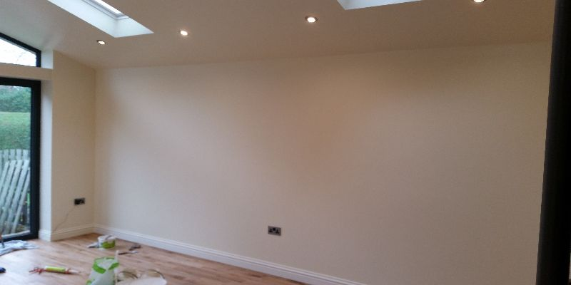 Room Painted In Dulux Timeless