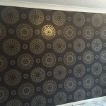 Feature wall complete.