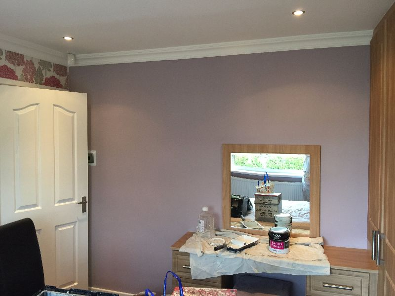 Redecorating A Bedroom In Chapeltown M Mitchell Painter