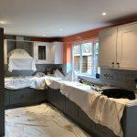 Kitchen walls before.