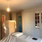 Bedroom walls before.